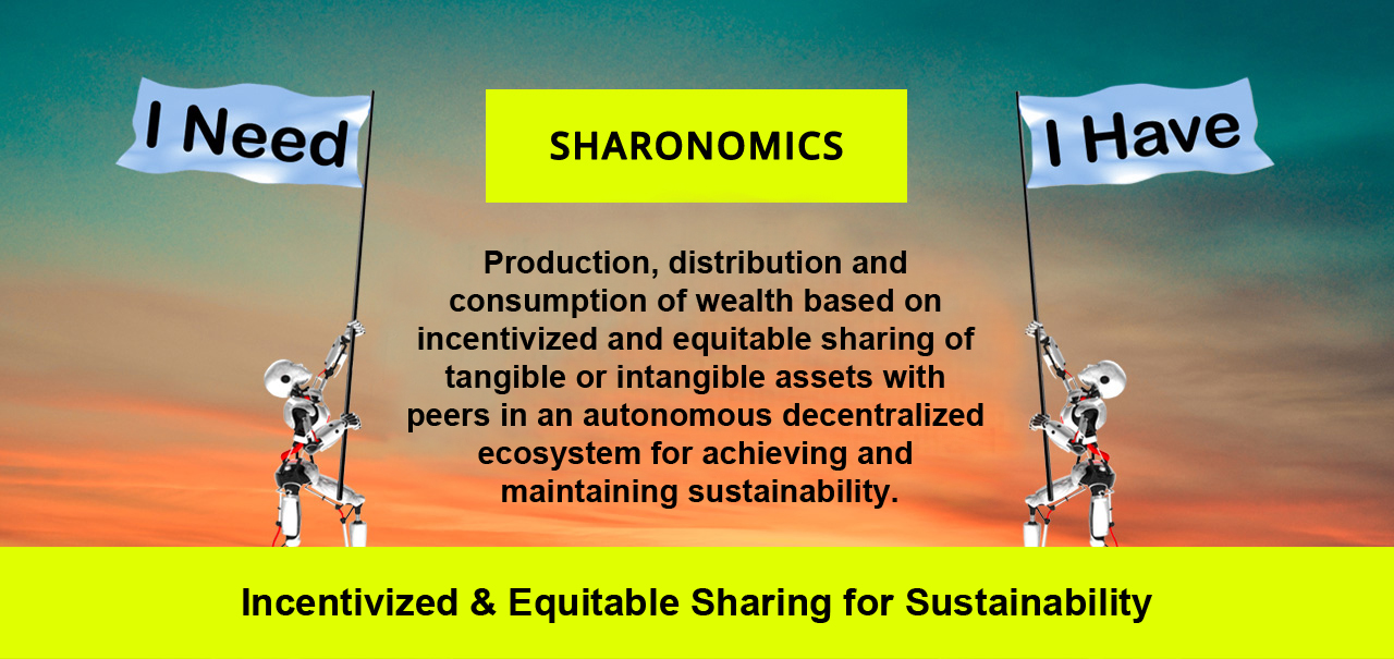 Sharonomics - #ShareTheInfluence, #ChangeTheWorld